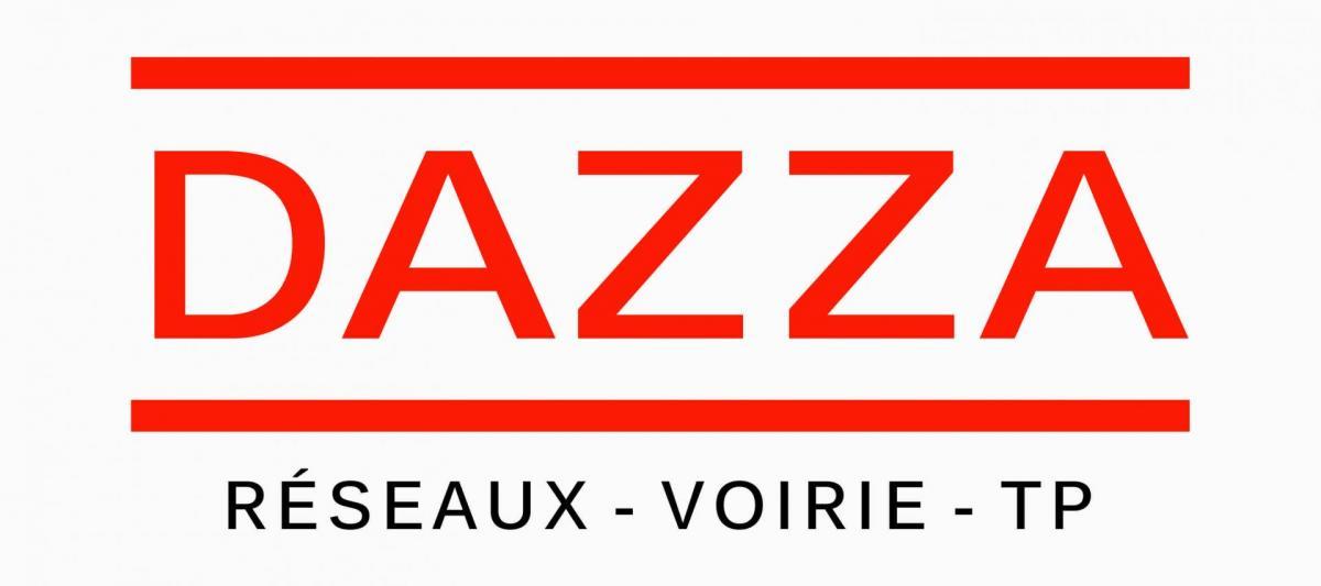Dazza logotype avec basse line
