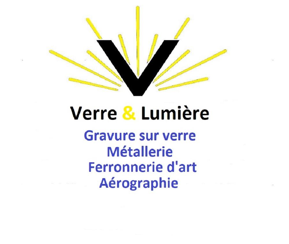 Logo verre lumiere